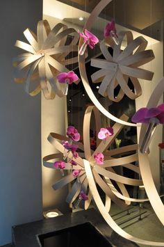 Flowers of the world window