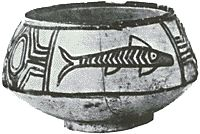 An Early Harappan polychrome pot