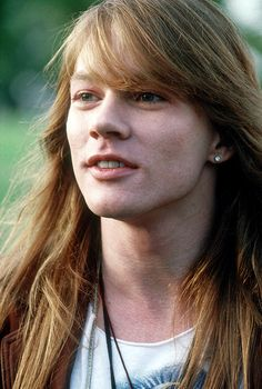 W. Axel Rose! No one could imagine how this man looks today! Pitty! I want to remember him as he was back then...