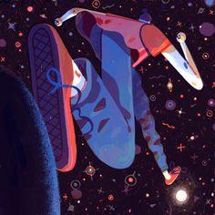 The Loud Cloud Promotion - Sam Rowe — Illustration - - Art And Illustration, People Illustration, Pattern Illustration, Illustrations And Posters, Character Illustration, Art Inspo, Vector Art, Concept Art, Character Design