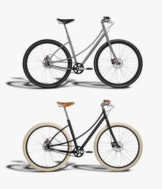 Budnitz Bicycles Model No.5, our new city bicycle built for speed and comfort, without sacrificing performance or style.