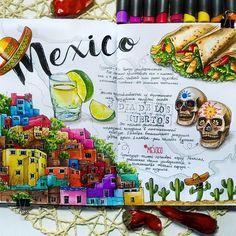 ✅ Мексика #sketchmarkersclub #скетчбук #скетчинг #leuchtturm1917 #markers #art_markers #sketch #sketchbook #art #sketching #скетчмарафон_скетчмаркер #мексика #череп #colour #chili