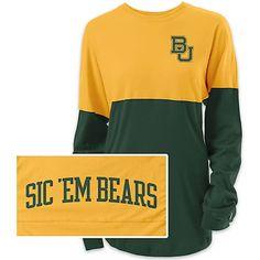 Product: Baylor University Women's Long Sleeve Ra Ra T-Shirt
