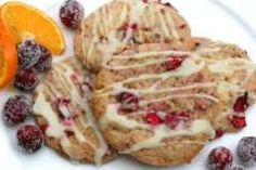 Cranberry Cookies mit Orange