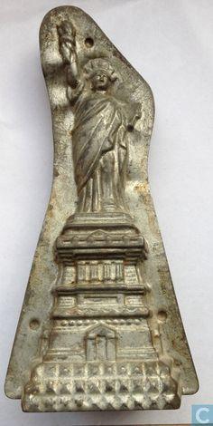 Statue of Liberty Chocolate Mold (Mallen en matrijzen - Chocoladevormen - Vrijheidsbeeld)