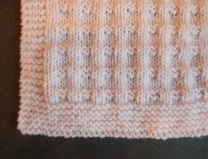 "Charlie Baby Blanket     Requirements ~ DK (8ply) yarn 4mm needles   Tension ~ 22sts = 4"" (10cm)   ..."