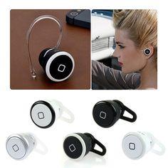 Ultra Smallest Wireless Bluetooth Mini Headset Earphone Fr iPhone Tablet Samsung #Samsung