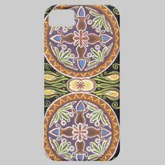 Kazakh Traditional Design iPhone 5 Case
