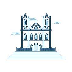 Este projeto tem o objetivo de recriar em linhas, pontos turísticos de várias cidades brasileira.