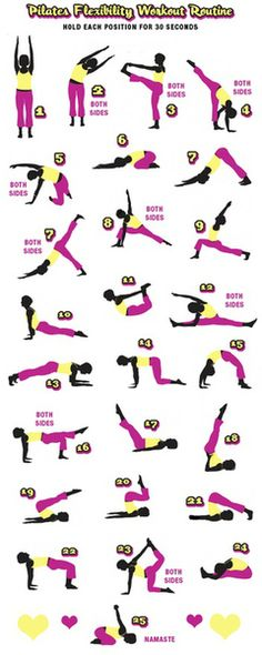 Pilates Flexibility Sequence