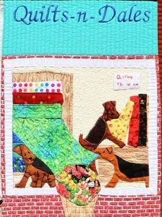Quilts-n-Dales Shop Made by: Joyce Miller Drawn by: Patty Eisenbraun