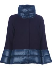 HERNO - padded detail coat