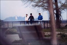 Whitey Bulger With Colleagues Stephen Flemmi and Kevin Weeks On Castle Island in South Boston — DEA photo by Special Agent Mike Swidwinski.