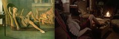 Balthus' The Golden Days and Louis Malle's Black Moon