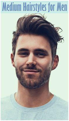 Medium Hairstyles for Men - http://goo.gl/JCI3uN