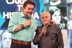 """Ator participa do""""Domingão do Faustão"""" e manda recado para Dilma Rousseff…"""
