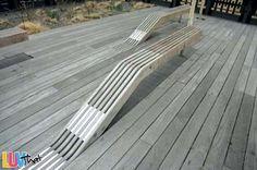 cool deck bench idea