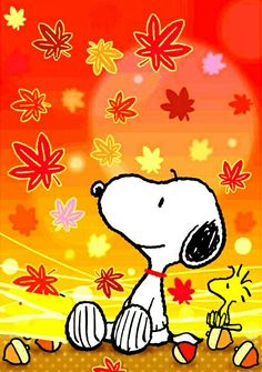 Fall for Snoopy and Woodstock