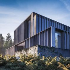 """Carey House by @henryjpgoss: """"Visualisation played a vital role in design decisions"""" http://www.dezeen.com/?p=567965"""