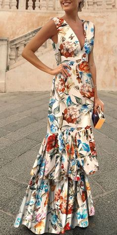 Women's printed dresses, end of summer outfits, you must have it, various style&color for you, free shipping on order $79+, shop now! #women #dress #printed #floral Women's Fashion Dresses, Maxi Dresses, Cute Dresses, Girl Fashion, Affordable Dresses, Affordable Fashion, Simply Fashion, Printed Dresses, Summer Outfits