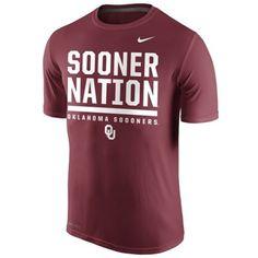 super popular b6f1e f3b88 Sooner Nation Nike Dri-FIT T. Must have! College Football Playoff, Fan