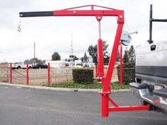 Purchase 500 LB PICK UP TRUCK HYDRAULIC PWC DOCK JIB ENGINE HOIST CRANE HITCH MOUNT LIFT in La Verne, California, US, for US $129.00 Rv Truck, Pickup Trucks, Truck Design, Pick Up, Crane, Gifts For Dad, Engineering, California, Small Living