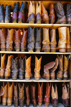when in doubt, a good pair of cowboy boots will always take you there