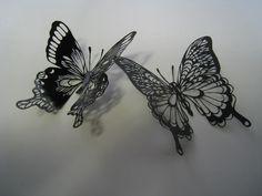 『切り絵~蝶~』