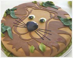Löwen-Kuchen von Miyuko für die Wilde Tiere-Party                              …