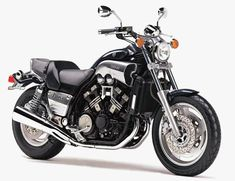 1963 harley davidson panhead flh from wolverine x men for Yamaha vmax cafe racer parts