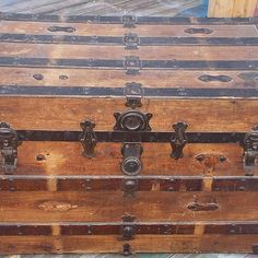 Maybe for the one I have?Steamer Trunk Up-cycle