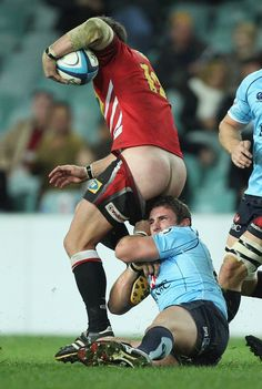 Sometimes the butts actually envelop everybody with their bodaciousness. | Definitive Proof That Rugby Is The Best Sport For Butts
