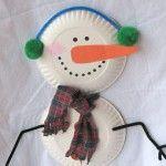 Paper+Plate+Snowman