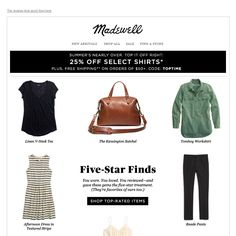 Madewell - The top-rated styles you love
