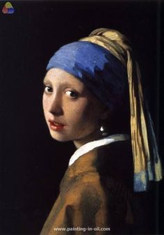 Girl with a pearl earring 1665 xx mauritshuis the hague netherlands