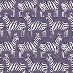 Zebra: children and animal pattern by Laurence Lavallée aka Flo