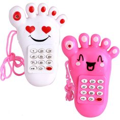 b42b28a0d Baby Phone Toy Simulator Music Phone Touch Screen Toy Electronic Toys