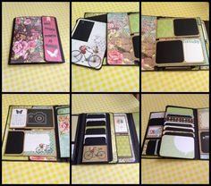 Fabulous Foto Folios designed by Kathy Orta - http://shop.paperphenomenon.com/Foto-Folios-w-Storage-Box-Tutorial-TUT076.htm