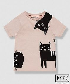 my k pink cat t-shirt We are want to say thanks if you like to share this post t. my k pink cat t- Outfits Niños, Kids Outfits, Cool Shirts, Funny Shirts, Kids Brand, Chat Rose, Latest T Shirt, Pink Cat, Kids Prints