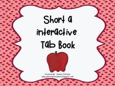 Short a Tab Book - Use this 13 page resource with your 1st or 2nd grade students. Included with your FREE DOWNLOAD you'll be able to review letter sounds with pictures, use letter boxes to stretch out and write CVC and CCVC words, use the pictures for a Short A word sort, use letter tiles to record them in the book, or go on a word hunt! There are LOTS of great options with this freebie!!