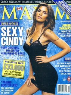 Picture of Cindy Crawford Cindy Crawford Photo, Maxim Cover, Maxim Magazine, Famous Models, Beauty Editorial, Model Photos, Model Agency, Most Beautiful Women, Female Models