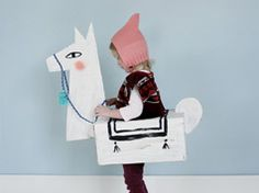 Cardboard llama costume in Decoration stuff and supplies for babies and kids