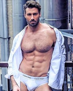 Masculine men with body hair. Moustaches, Hommes Sexy, Hot Hunks, Sexy Shirts, Hairy Chest, Man Photo, Hairy Men, Attractive Men, Muscle Men