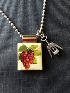 Pendant Jewelry Scrabble Tile Handmade by InSmallPackages on Etsy