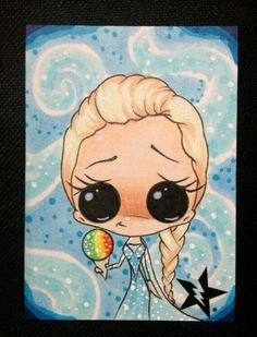 Sugar Fueled Art-Princess Elsa