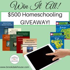 $500 Homeschooling Giveaway!