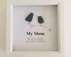 Presents For Mom, Gifts For Mum, Mother Day Gifts, Gifts For Friends, Special Gifts, Friends Family, Family Tree With Pictures, Images D'art, Deep Box Frames