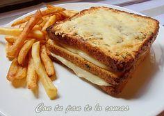 Para cuando venga alguien a cenar!!!! Con tu pan te lo comas: SANDWICH DE QUESO Y ORÉGANO