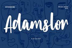 Handwritten Script Font, Creative, Logo Design, Graphic Design, Text Fonts, Brush Font, Movie Titles, Typography, Lettering