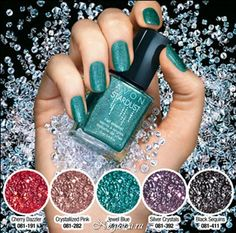 Avon Stardust Nail Enamel (I have the purple one) love that teal